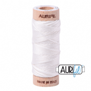 Aurifloss - 6-strand cotton floss - 2021 (Natural White)